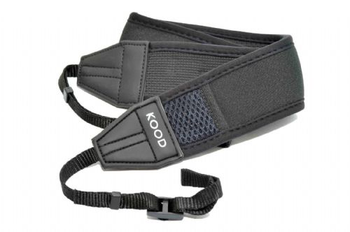 Kood Non-Slip Neoprene Camera Neck Strap with Pocket & D Rings